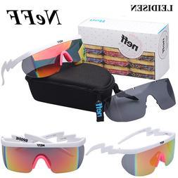 With Box Fashion NEFF <font><b>Sunglasses</b></font> Men/Wom