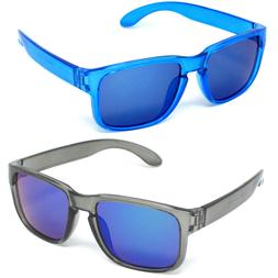 Boys Girls Sunglasses Kids Youth UV 100% FDA Lead Free Color