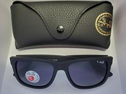 BRAND NEW Ray-Ban RB4165 Justin 622/T3 Polarized Black/Gray