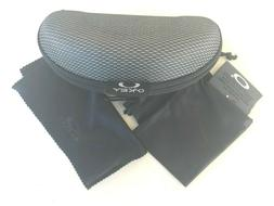 BRAND NEW SUNGLASSES CASE For Oakley with DUST BAG and clean