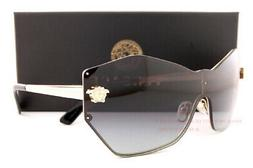 Brand New VERSACE Sunglasses VE 2182 1252/8G Gold/Grey Gradi