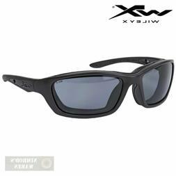 Wiley X Brick Sunglasses, Smoke Grey, Matte Black