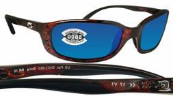 Costa Brine Polarized Sunglasses - Costa 580 Glass Lens Tort