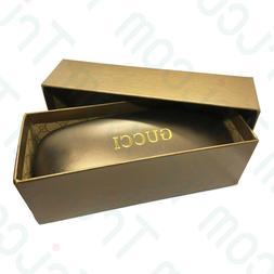 Gucci Bronze Hard Clam Shell for Sunglasses Eyeglasses Case
