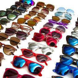 Bulk Pack Shades Sunglasses Vintage Classic 80's Retro Shade