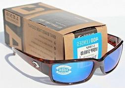 Costa Del Mar Caballito Sunglasses, Tortoise, Blue Mirror 58