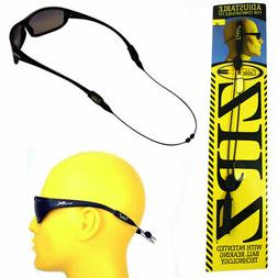 "CABLZ Sunglasses Glasses Holder ZIPZ Black 14"" Adjustable Ey"