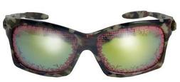 CAMO FRAME NOVELTY BLOODSHOT EYES SUNGLASSES mens glasses ne