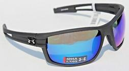 Under Armour Captain Satin Black Frame, with Black Rubber an