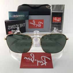 Ray-Ban CARAVAN - ARISTA Frame CRYSTAL GREEN Lenses 55mm Non