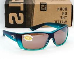Costa Del Mar Cat Cay Sunglasses - Matte Caribbean Fade/Silv