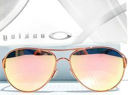 Oakley Caveat Sunglasses OO4054-01 Rose Gold Frame W/ VR50 B