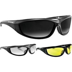 Bobster Charger Casual Mens Motorcycle Street Sport Sunglass