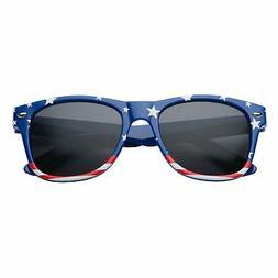 Children's Blue Kids American USA Flag Sunglasses for Boys a