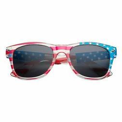 Children US Kids American USA Flag Sunglasses for Boys and G