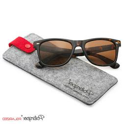 Polarspex Classic 80's Retro Unisex Polarized Sunglasses 100
