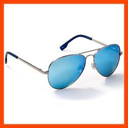Classic Aviator Style Polarized Sunglasses For Men Women Met