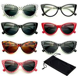 Classic Cat Eye Sunglasses Small Retro Vintage Women Fashion