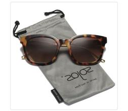 SOJOS Classic Polarized Sunglasses for Women Men Mirrored Le