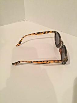 Classic Small Round Retro Sunglasses Tortoise Frame Mirror R