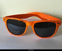 Retro Optix Classic  Sunglasses - Orange / spot WF 01