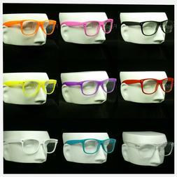 Clear lens glasses men women frame optical nerd hipster retr