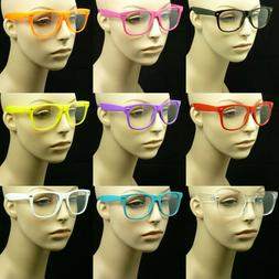Clear lens glasses nerd geek fake eye wear men women fashion