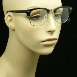 Clear lens glasses nerd geek fake men women retro vintage hi