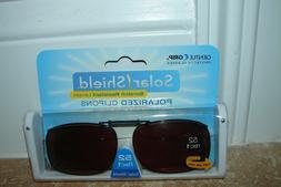*Solar SHIELD CLIP ON Sunglasses   52 rec 1 AMBER