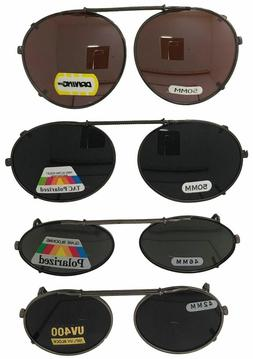 Clip On Sunglasses For Oval Round Frame Glasses Polarized Dr