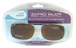 Solar SHIELD CLIP ON Sunglasses FULL FRAME 52 REC 1 W/ HARD