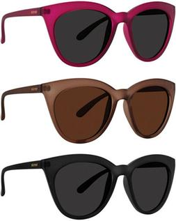 Kensie Coco Polarized Women's Rounded Cat Eye Sunglasses