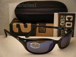 Costa Harpoon Black w Blue 580G lens NEW Sunglasses