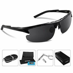 COSVER 8123 Fashion Polarized Sport Sunglasses for Mens Wome