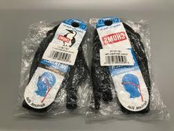 Chums Original Cotton Standard End Eyewear Retainer, Black