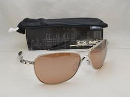 Oakley Mens Crosshair OO4060-02 Iridium Oval Sunglasses,Chro