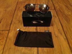 Oakley Mens Crosshair OO4060-06 Polarized Oval Sunglasses,Le
