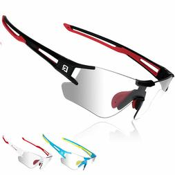ROCKBROS Cycling Bike Photochromatic Rimless Sunglasses UV40