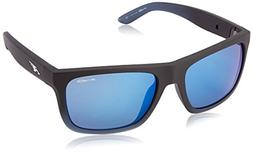 Arnette Dropout Rectangular Sunglasses,Fuzzy Black Fade/Gumm