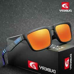 Dubery Polarized Sunglasses Men Sports Running Fishing Golfi