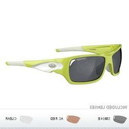 Tifosi Duro Interchangeable Lens Sunglasses - Neon Green