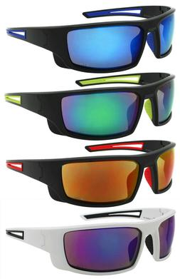 Edge I-Wear Sports Safety Sunglasses ANSI Z87+ Color Mirror