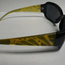 Edge I-Wear Women's Oval Wrap Style Sunglasses with Animal P