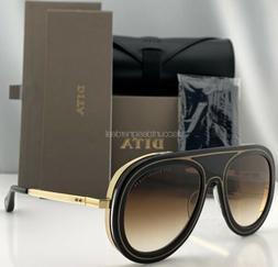 DITA ENDURANCE 88 Sunglasses Black 18K Gold Brown Gradient L