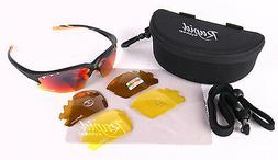 Expert Cycling Sunglasses with Interchangeable lenses  100%