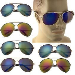 Extra Large Gold Frame Aviator Sunglasses Big Head Oversized