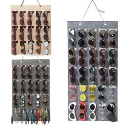 Eyeglass Sunglasses Storage Display Stand Organizer for 15 G