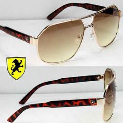 Khan Eyewear Mens Womens Designer Fashion Pilot Sunglasses S
