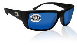 Costa Del Mar Fantail TF/11 580G Black Polarized Sunglasses