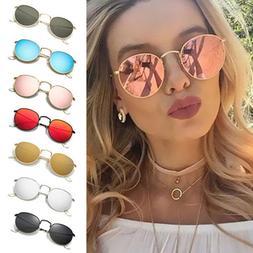 Fashion Oversized Round Sunglasses Men Women's Vintage Retro